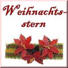 "Ich war wieder fleißig und deshalb gibt es gleich 2 neue Anleitungen:***I was a little bit busy and now there are 2 new patterns available:""Armband Weihnachtsstern""""Walzen"" Beading, Pattern, Wheeling, Christmas Poinsettia, Stars, Beads, Bead Weaving, Model, Patterns"