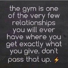 Why I enjoy fitness. I am in control