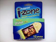 Polaroid i-zone Sticker Film 12 Photos New Expired 11/99  #Polaroid