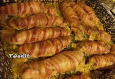 Ketogenic Recipes, Diet Recipes, Vegan Recipes, Keto Dinner, Diy Food, Poultry, Bacon, Sausage, Food And Drink