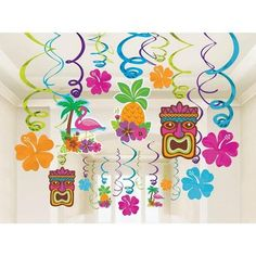Set the scene for your Polynesian theme with our gorgeous Hawaiian Luau swirl Buy all the best Hawaiian Luau party supplies at Discount Party Supplies. Hawaiian Party Supplies, Hawaiian Luau Party, Hawaiian Birthday, Hawaiian Theme, Tropical Party, Wholesale Party Supplies, Discount Party Supplies, Printed Balloons, Foil Balloons
