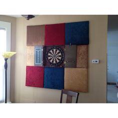 Dart board + backdrop