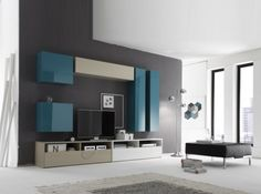 LC Mobili Modern Wall Unit Box Combi 11