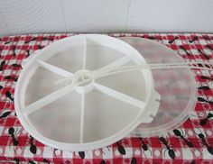 Vintage Tupperware Relish Tray with Lid and by siblingsvintage, $15.00