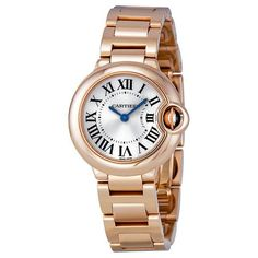 Retail Price $22,400 Case Material 18K Rose Gold Bracelet Material 18K Rose Gold Clasp 18K Rose Gold, Deployment Movement Quartz, Battery Operated Crystal Sapphire Dial Silver Dial, Roman Numerals Mea