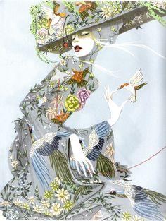 Richard Grey fashion illustration