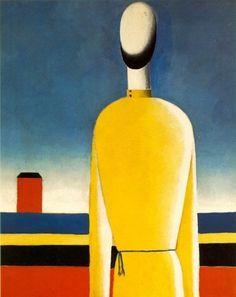 Figure à la tunique jaune - Malévitch Casimir