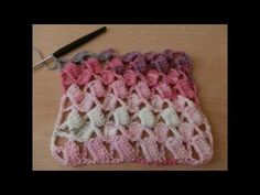 YouTube Rico Design, Needle And Thread, Crochet Stitches, Super, Finger Knitting, Scarfs, Caps Hats, Blinds, Dots