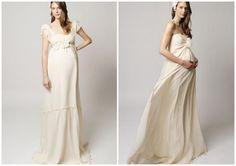 Suknia ślubna a ciążowy brzuszek