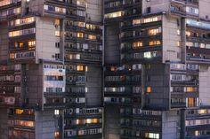 Interview: Arseniy Kotov, photographer of former Soviet cities - Proti šedi Interview, Scene, City, Cities, Stage