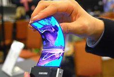 detikcom | Samsung Bikin Ponsel yang Bisa Ditekuk dan Dilipat