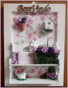 Quadro Cenario Jardim -Garden Lilac