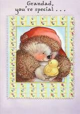 Lovely Hallmark Country Companions Hedgehog and Chick - Easter card ~ GRANDAD