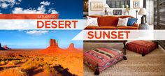 Saturated: Desert Sunset