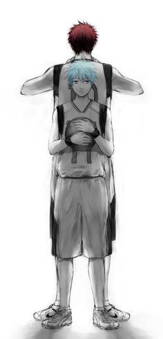 Kuroko No Basket kagami x Kuroko #manga #anime #basketball