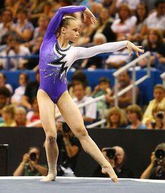 Rebecca Bross gymnast women's gymnastics floor exercise FX  PLUS 0/1 m.0.6  #KyFun  kcwftp m.13.2