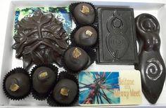 For my Pagan friends. Pagan Chocolates.