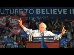 Bernie Sanders rally in Milton Massachusetts - 2/29/2016 - YouTube