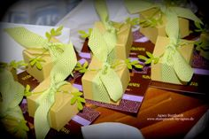 Envelope Punch Board - little boxes