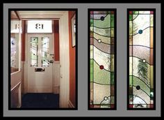 Contemporary Stained Glass - Front door - Tim Gill