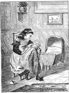 The Doll's Nursery - Five Little Mice in a Mouse Trap By the Man in the Moon by Laura E. Richards, 1880