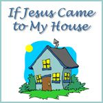 Free early learning printables for the book If Jesus Came to My House. Focusing on skills for preschool to kindergarten.