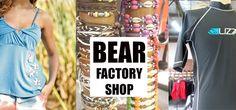 Durban Factory shop that stocks Badboy, Badgirl, Gotcha, Lizzy, Lizzard, Senqu, Lost & Landrover Lost, Bear, Tank Tops, Slippers, Shops, Shopping, Women, Fashion, Moda