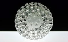 Human Papillomavirus. These deadly glass sculptures by Luke Jerram represent diseases like HPV, malaria, and smallpox in their true, colorless form. His pieces are so accurate that they are used in academic settings throughout the world.