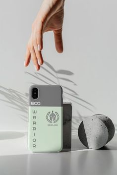 Calling all Eco Warriors. Show your support for Mother Earth with this lovely Eco friendly phone case...