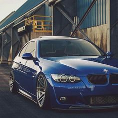 BMW E92 3 series blue