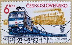 Stamp Dealers, Old Stamps, Trains, Stamp Collecting, My Stamp, Postage Stamps, Transportation, Lettering, Czech Republic