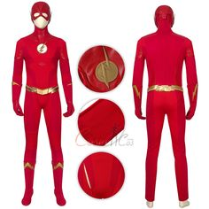 Item Number:dcthf011, The Flash Costume The Flash Season 5 Cosplay Barry Allen Full Set online sale! Buy great cosplay full set costumes for Halloween and Christmas.