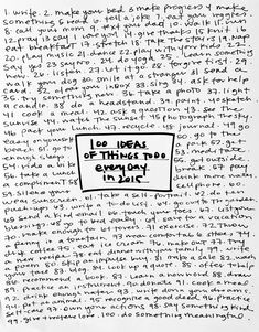 100 ideas of daily h