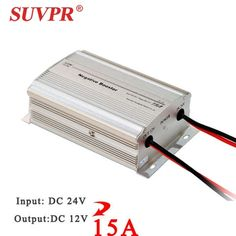 Real SUVPR negative booster DC 24V to DC 12V/15A 180W car power step-down transformer converter free shipping