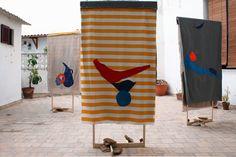 born Aranda de Duero, Spain Lives and works in London Summer Games, Spain, Textiles, Painting, London, Prints, Life, Art, Sculpture