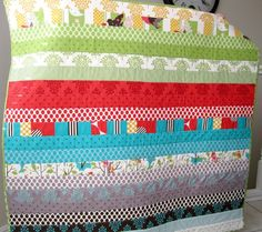 It's A Hoot Baby Quilt by liltulip on Etsy. 41 x 41 175.