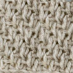 My Tunisian Crochet: Tunisian Knit / Bar Stitch