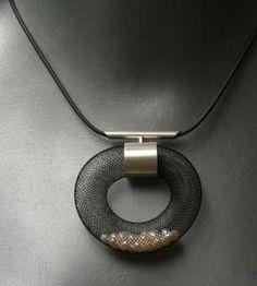 Mesh Pendant Collection ~ Barbara Cohen