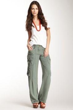 Da-Nang Boheme Silk Pocket Pant by Da-Nang on @HauteLook