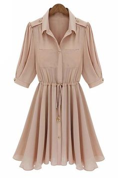 Cute shirtdress with great details
