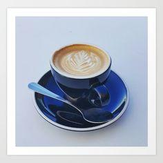 Coffee Cup Art Print #photography #coffee #artprint