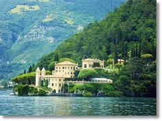 The Stunning Villa Balbianello  Lake Como is one of the most popular vacation spots for people looking for romantic vacations in Italy.
