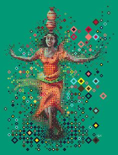 Ndere dancer by Charis Tsevis