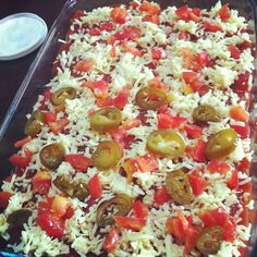 The 7 Layer Mexican Dip Recipe