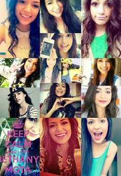 Bethany Mota❤️ Follow me and comment below if you want to be added to MOTAFAM❤️