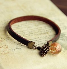Pine Cone Bracelet