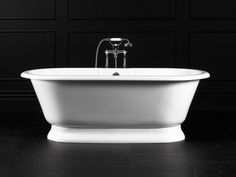 Victoria and Albert's York Bathtub: Remodelista Tub Shower Combo, Shower Tub, Victoria And Albert Baths, Pedestal Tub, Baths For Sale, Victorian Bathroom, Bathroom Renovations, Bathroom Ideas, Bathtub Ideas