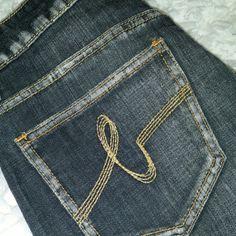 bebe Jeans Black denim wash bebe jeans bebe Jeans Boot Cut