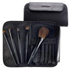 SEPHORA COLLECTION Face & Eye Travel Tool Kit : Brush Sets | Sephora