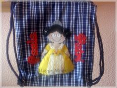 Bolsa fallera personalizada! Fieltro Por Happy monsters fieltro